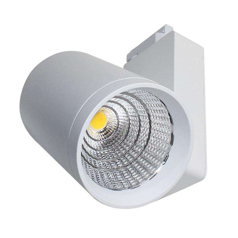 Foco carril DIMO RAIL LED BridgeLux 40W, Blanco cálido